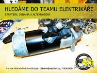 Hledáme to teamu šikovného elektrikáře