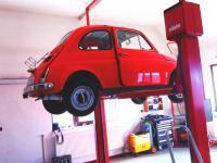 Renovace interiéru a podvozku na Fiatu 500 - březen 2020 - DÍLNA REVORACING - FIAT SERVICE - část. 2