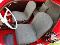 Potahy Fiat 500 FINAL tmavě šedá, aneb ze starého do elegantního