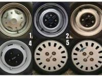 Barvy a typy kol modelů Fiat 126