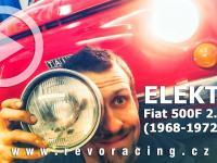 Fiat 500F 2. série (1968-1972) správná funkce elektroinstalace