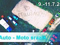 4. Auto - Moto srazík 9.-11.7.2021 kemp Lázně Bohdaneč U Čochtana
