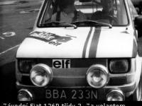 Historie závodních Fiatů 126p v barvách továrního týmu