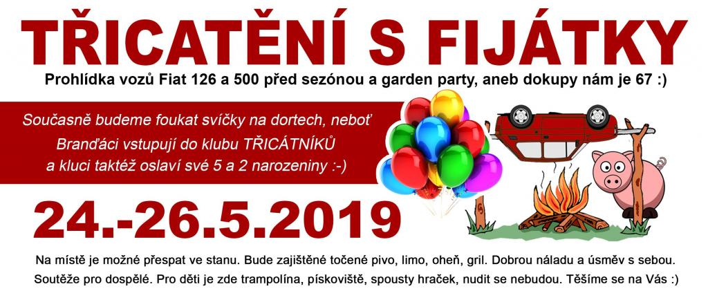 Třicatění S Fijátky 24-26.5.2019