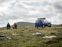 Maluchem za 13 tisíc na severní konec Evropy: první oprava po dnu cesty