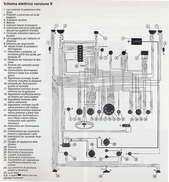 Schema Elettrico Fiat Punto 1 2 8v : Elektrická schémata encyklopedie revoracing cz